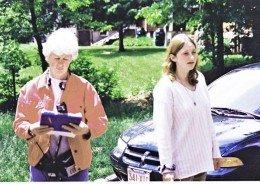 Olivia Tappan and Anna Mintz