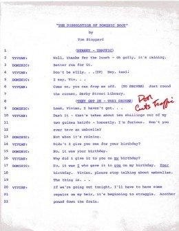 Stoppard script