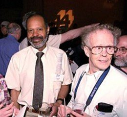 At the 2000 WGBH Reunion with John MacKnight