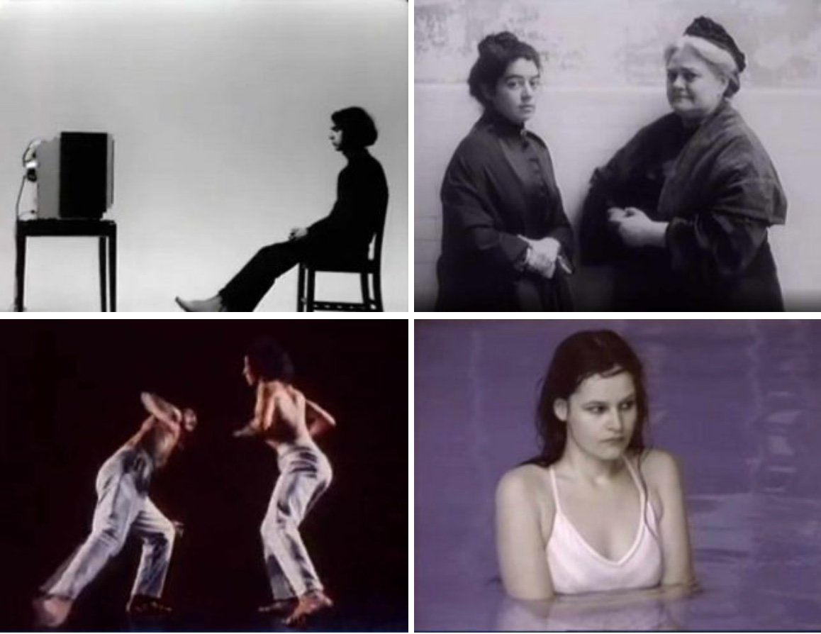Stills from programs produced for the New Television Workshop